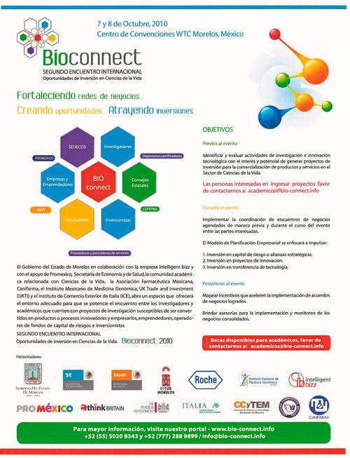 Congreso Bioconnect 2010 - Ciencias de la Vida